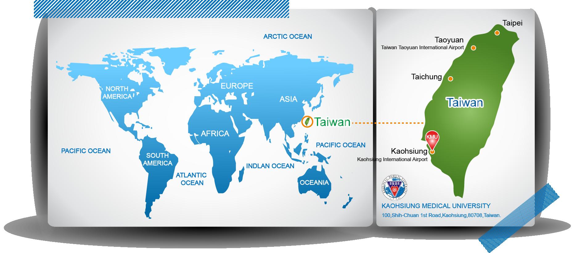 KMU World Map